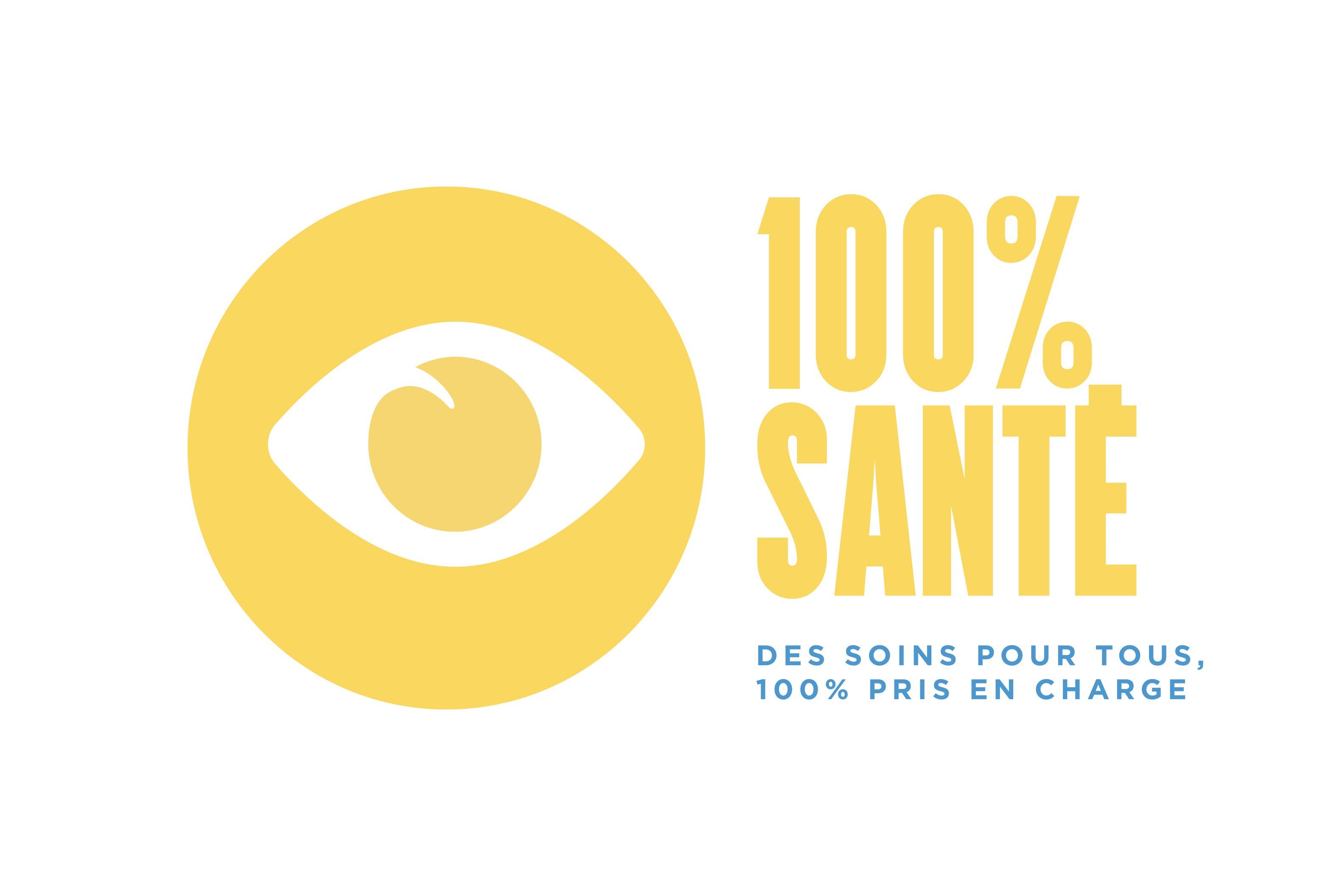 Logo 100% Santé Optique