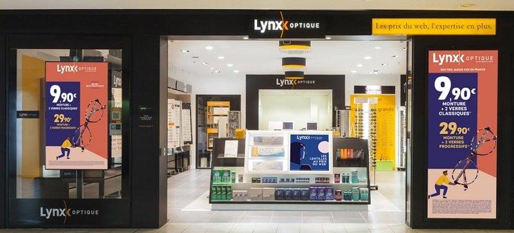 Photo type magasin Lynx Optique