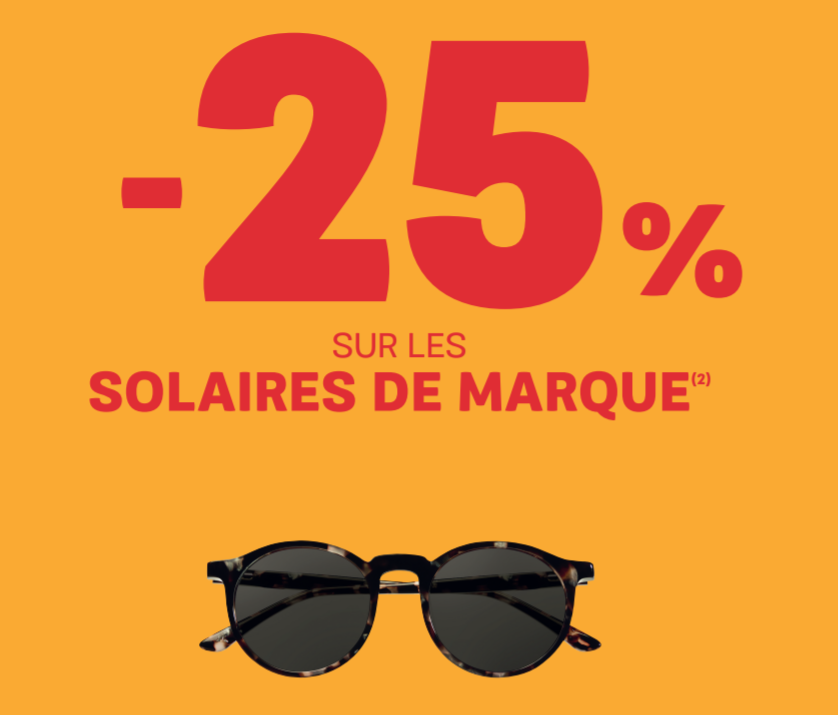 Offre -25% solaires